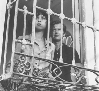Jack Nicholson and Maria Schneider in The Passenger